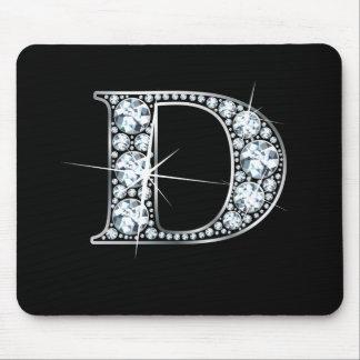 "D-""diamantBling"" tryck Mousepad Musmatta"