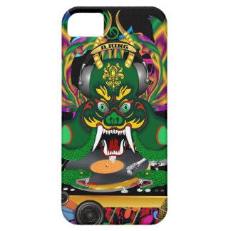 D.J. Drake Göra till kung Mardi Gras beskådar iPhone 5 Skal