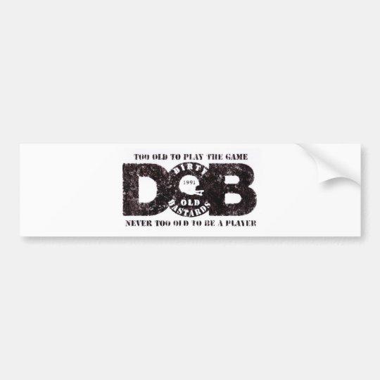 D.O.B Vintage collection Bildekal