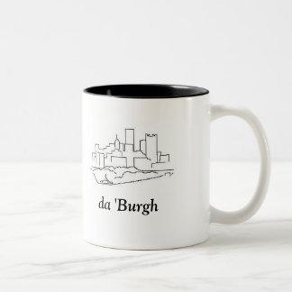 da-'Burgh Två-Tonad Mugg