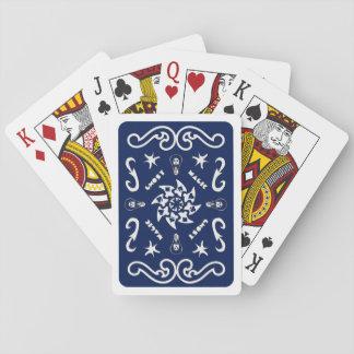 Däck av magi, kort för DJ GhostMagics (blått) Spel Kort