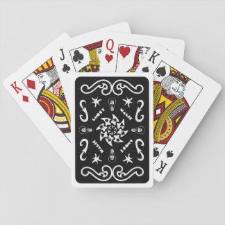 Däck av magi, kort för DJ GhostMagics (svarten) Spel Kort
