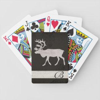 Däck för kort för Monogram för Spel Kort