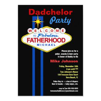 Dadchelor party - inbjudningar för Daddymoon