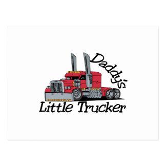 Daddys lite lastbilsförare vykort