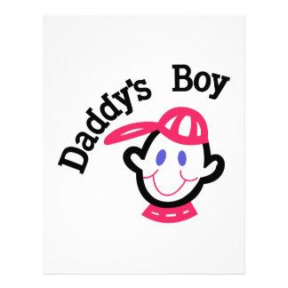 Daddys pojke brevhuvud