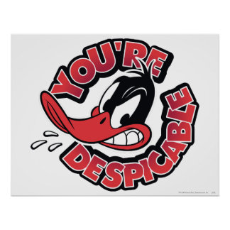 DAFFY DUCK™ - Du är Despicable Poster