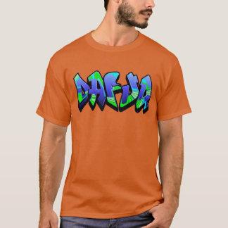 Dafuq grafitti tee shirts