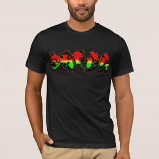 Dafuq Rasta grafittiT-shirt. Tee