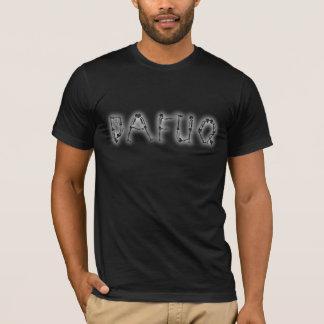 Dafuq skalle och ben tee shirt