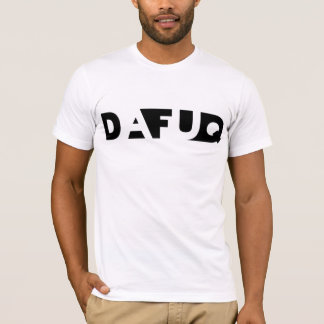 Dafuq skuggar kvarter. T-Shirt. T-shirts