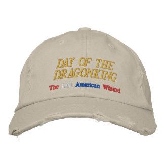 Dag av den Dragonking broderade hatten Broderade Kepsar