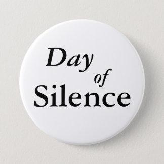 Dag av tystnad mellanstor knapp rund 7.6 cm