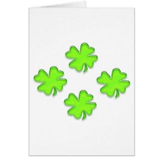 Dag för St. Patricks Hälsningskort