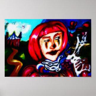 dagdrömma för clown poster