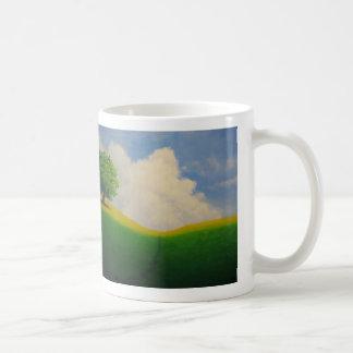 Dagdrömma horisontmuggen kaffemugg