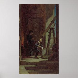Dagdrömmaren, c.1863 poster