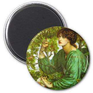 Dagdrömmen av Dante Gabriel Rossetti Magnet För Kylskåp