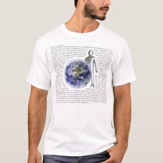 Dagen jorden som fortfarande stås tee shirt