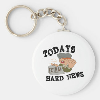 Dagens hård nyheterna rund nyckelring
