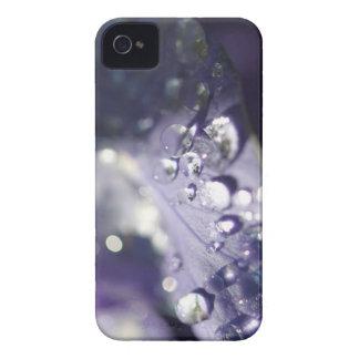 Dagg tappar blommaväggen iPhone 4 Case-Mate skydd