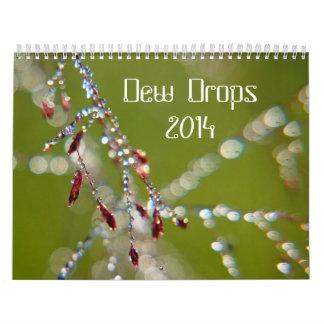 Dagg tappar kalender 2014