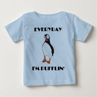 Daglig fågel för I-förmiddagPufflin Puffin T Shirt