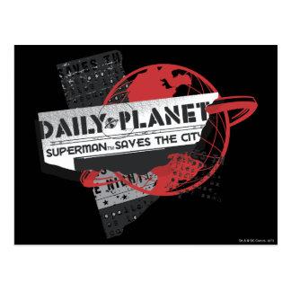 Dagligen planet - sparar staden vykort