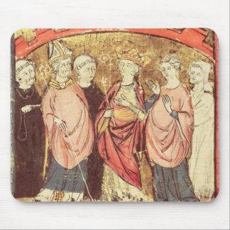 Dagobert mig, kung av öppenhjärtighälerit kungarik musmatta