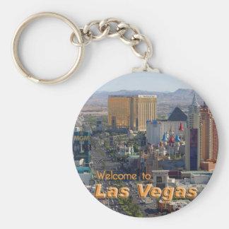Dagsljus på den Las Vegas remsan Rund Nyckelring