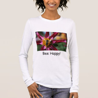 Dahlia- & bikvinna skjorta tee