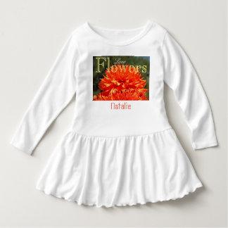 Dahlia för namn för anpassningsbar för klänning tshirts