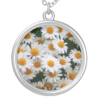 Daisy daisyhalsband silverpläterat halsband