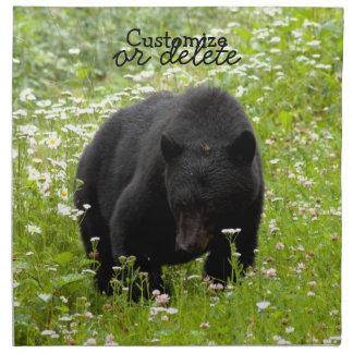 Daisy den svart björnen; Anpassade Tygservett