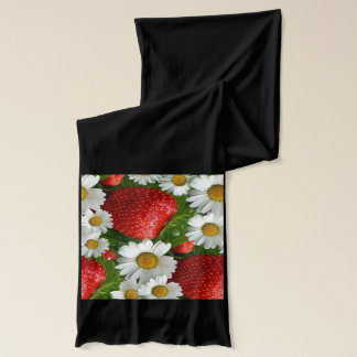 Daisy och jordgubbar halsduk