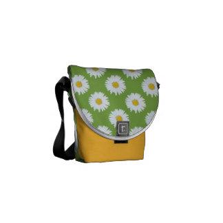 Daisy på grönt kurir väskor