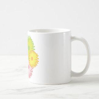 daisy vit mugg
