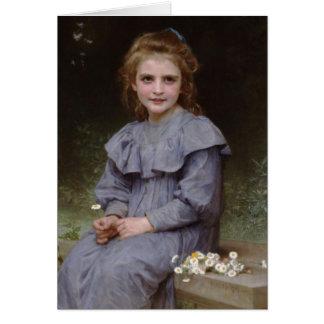 Daisy - William-Adolphe Bouguereau Hälsningskort