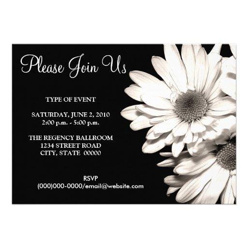 Daisyinbjudningar Unika Inbjudningar