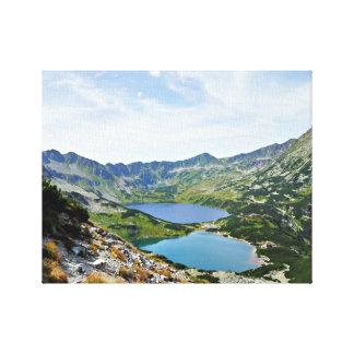 Dal för fem polsk damm, Tatras Canvastryck
