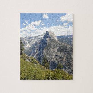 Dal för Yosemite nationalparkKalifornien halv Pussel
