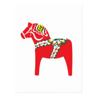 Dalahäst | Dala häst Vykort