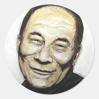 Dalai Lama Runt Klistermärke
