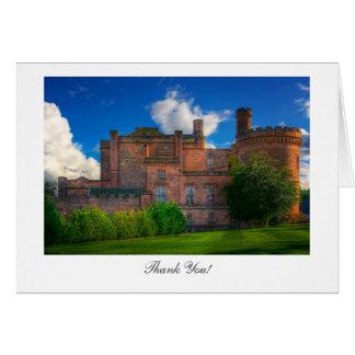 Dalhousie slott, Midlothian - tack Hälsningskort