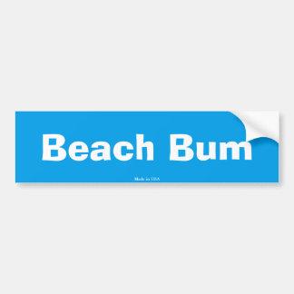 Dålig bildekal för strand