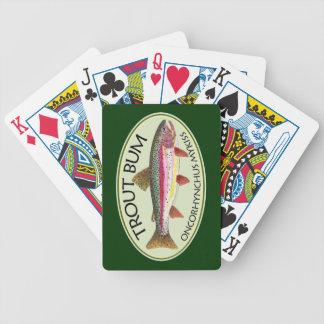 Dålig fiskare för forell spelkort