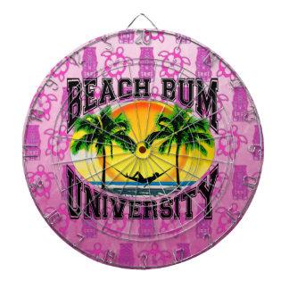 Dålig universiteten för strand dart tavlor