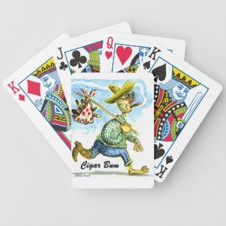 Dåliga kort för cigarr spelkort