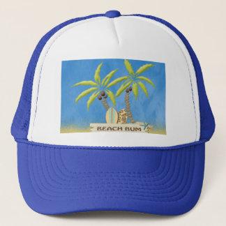 Dåliga palmträd för strand keps