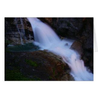 DåligaGastein vattenfall Hälsningskort